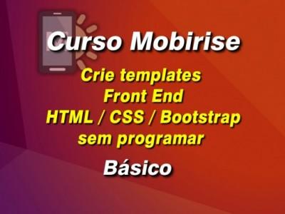 Curso Mobirise Básico - HTML CSS sem programar