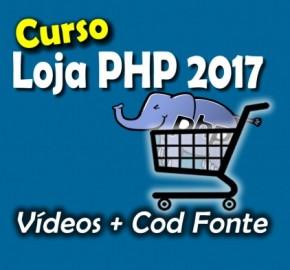 Curso criando uma Loja virtual com PHP 7 POO e MVC + Fonte