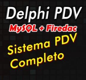 Curso de Delphi com Firedac Modulo 1: Sistema PDV completo