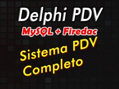 Curso Delphi com Firedac Modulo 1: Sistema PDV completo