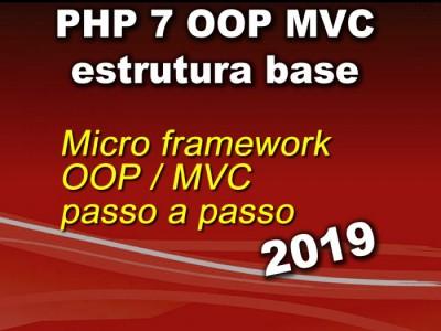 Curso de PHP 7 com MVC  e POO - Módulo1 Estrutura Base